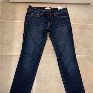 Abercombir & Fitch Dark Blue Skinny Jeans